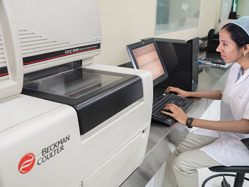 Automated DNA sequencing, at R&D Centre, Thane.