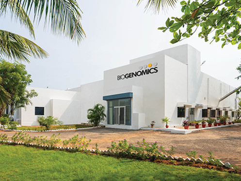 Exterior photo of the manufacturing plant at Puducherry.